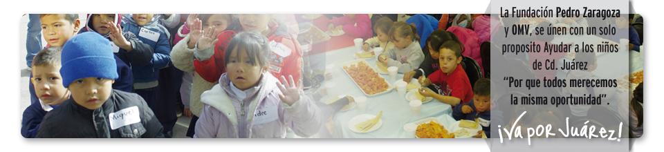 Fundación Pedro Zaragoza y Omar Villalobos, se únen para ayudar a los niños de Ciudad Juárez